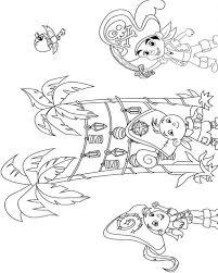 jake land pirates coloring pages