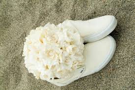 all white destination beach wedding in hawaii inside weddings