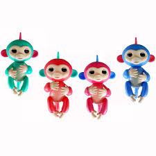 fingerlings baby monkeys cute colorful fingers llings interactive