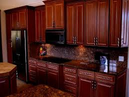 Kitchen Cabinets Luxury by Fine Dark Maple Cabinets Kitchen In Bison Inside Decorating