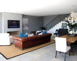 grey walls brown sofa grey walls with brown leather furniture coryc me