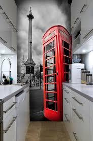 chambre ado londres spécialiste français papier peint londres trafalgar square et cabine