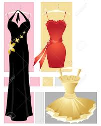 black dress clipart party dress pencil and in color black dress