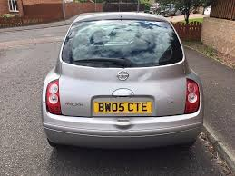 nissan micra owners club nissan micra 1 2 s 3 door hatch o5 plate 70 000 miles