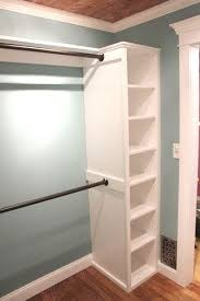 Diy Build Shelves In Closet by Best 25 Diy Closet System Ideas On Pinterest Diy Closet Ideas