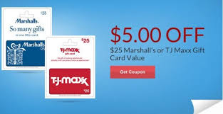 marshall gift card rite aid 5 a 25 marshall s or tj maxx gift card printable