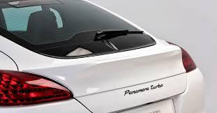 porsche panamera trunk vorsteiner v pt aero ducktail spoiler carbon fiber pp 2x2 for the