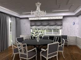 Dining Rooms With Wainscoting Gray Dining Room With Greek Key Wainscoting Contemporary