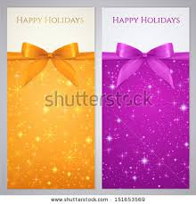 christmas gift certificate template stock images royalty free