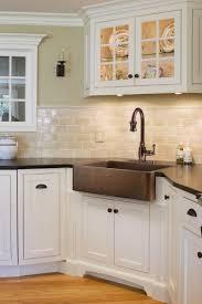 Farmhouse Kitchen Backsplash by Kitchen Sinks With Backsplash Home Decoration Ideas