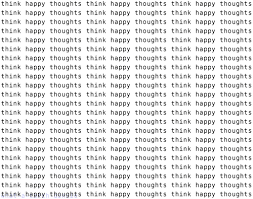 think happy thoughts pictures photos and images for