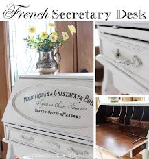 Repurposed Secretary Desk French Secretary Desk Confessions Of A Serial Do It Yourselfer