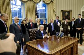 Trump In The Oval Office Donald Trump Photos Photos Trump Signs Executive Orders In The