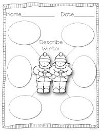 snowman writing paper printable gearing up for winter miss kindergarten gearing up for winter