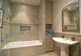 Installing Tile In Shower Ideas Gorgeous Tile Above Fiberglass Shower Stall Installing