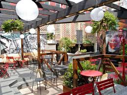 Patio Furniture Nyc by 22 Outdoor Spots To Sip Cocktails In Nyc