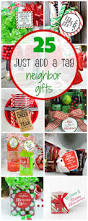 25 just add a tag neighbor gifts crazy little projects