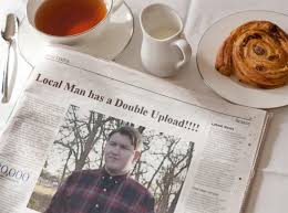 Upload Image Meme - local man has a double upload morning news know your meme