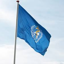 flag of the world health organization wellcome is now in official relations with the world health