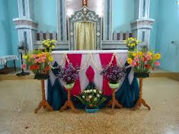 altar decorations murasancode parish murasancode altar decoration