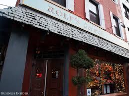 Rolfs Nyc Christmas Inside New York U0027s Most Festive Restaurant Business Insider
