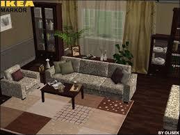 Markor Bookcase Mod The Sims Ikea Markör Livingroom Set Part I