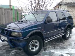 opel frontera lifted frontera