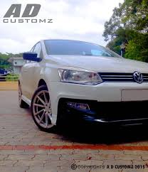 volkswagen polo body kit a d customz kochi india facebook