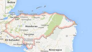america map honduras honduras central america org