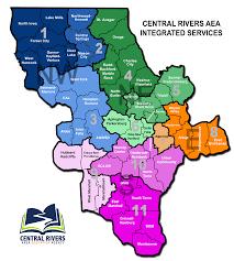 Map Of Cedar Falls Iowa Service Territory Central Rivers Aea