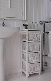 Storage Bookshelves With Baskets by Bathroom Storage Shelves Unit Home Decor Toilet Bunk White Basket