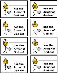 armor of god printable armor of god lesson for kids bible