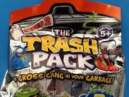 trash pack series 2 gross garbage gang blind bag pack opening