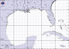 Map Pensacola Florida by Tropical Weather