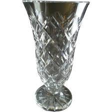 Large Waterford Crystal Vase Waterford Crystal