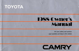 lexus drivers manual toyota lexus lover 1988 toyota camry lx owners manual