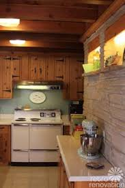 Kitchen Pine Cabinets 1950s Interior Design And Decorating Style 7 Major Trends