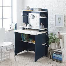 Legare Desk With Hutch by Legare 43 In Desk With Shelf And File Cart Gray And White