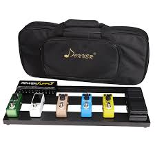 amazon com donner guitar pedal board case db 2 aluminium