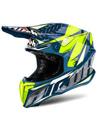 motocross helmets airoh iron blue twist mx helmet airoh freestylextreme uk
