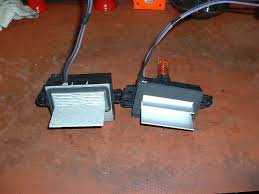 2005 trailblazer fan speed sensor how to replace blower resistor pack replacement with pics page