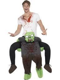 Piggyback Halloween Costume Piggyback Halloween Adults Fancy Dress Scary Ride Novelty Mens