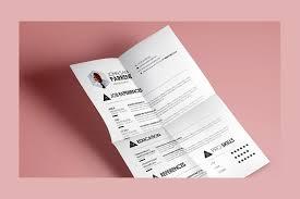 modern clean resume cv template free design resources