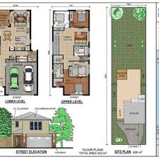 narrow lot luxury house plans modern home for a narrow lot drummond house plans luxury