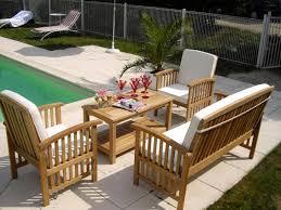 canapé exterieur en palette fabriquer salon de jardin en palette de bois luxe salon exterieur