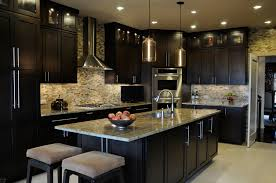 Black Gloss Kitchen Ideas by Gourmet Home Kitchen Designs The Modern Style And The Gourmet