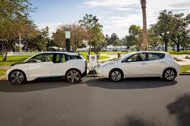 nissan leaf home charging nissan bmw partner to provide more fast charging for electric cars
