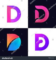 set letter d logo icon signs stock vector 626229332 shutterstock
