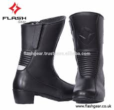 best motorcycle boots for women flash gear women bikers leather boot 2017 women rider boot best