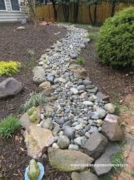 diy dry creek beds the garden glove